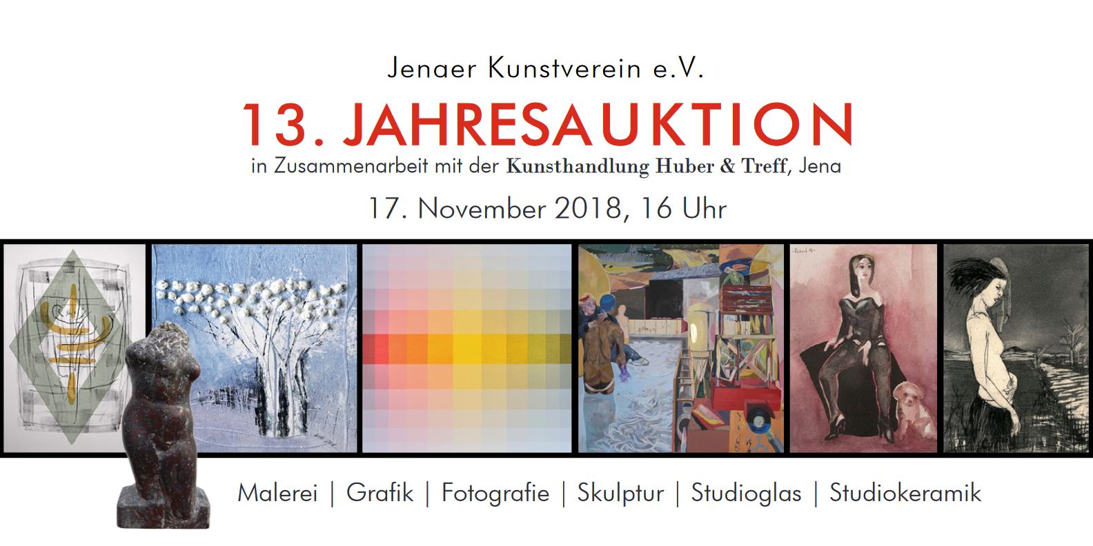 Titelbild - 13. Jahresauktion | Jenaer Kunstverein, Huber & Treff